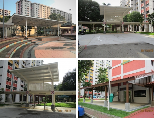 Construction of Drop-off Porch & Upgrading Works at Bedok North Ave 3/Road (2018)