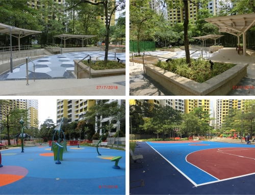 Upgrading Of Jelutun Harbor Park Near Blk 486 to 493 Admiralty Link(2018)